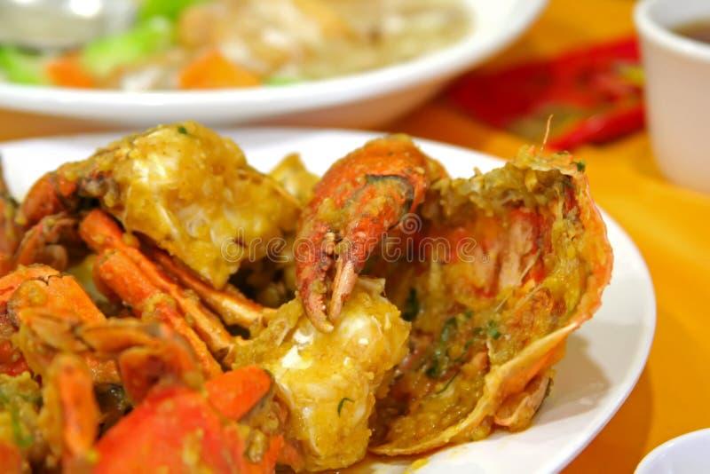 Crabes frits photos libres de droits
