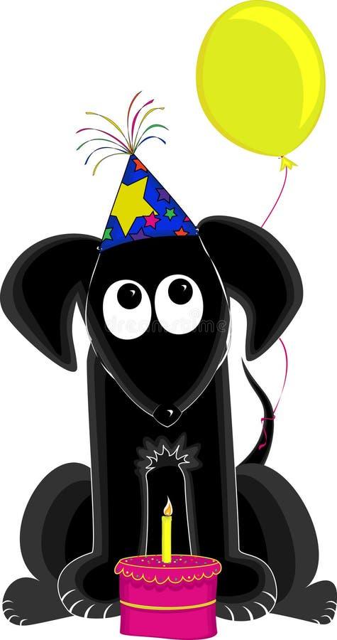 Crabot d'anniversaire illustration libre de droits