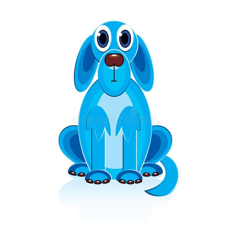 Crabot de bleu de dessin animé illustration de vecteur