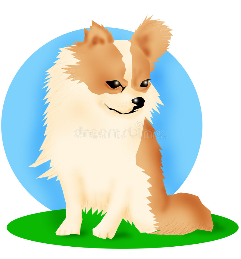 Download Crabot de chiwawa illustration stock. Illustration du crabot - 58593