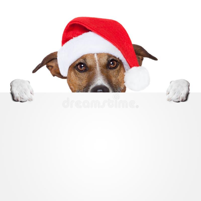 Crabot de texte d'attente de drapeau de Noël image libre de droits