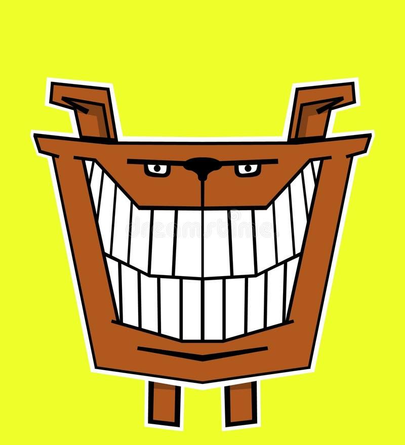Crabot heureux illustration stock
