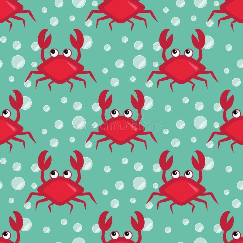 crabs смешное иллюстрация штока