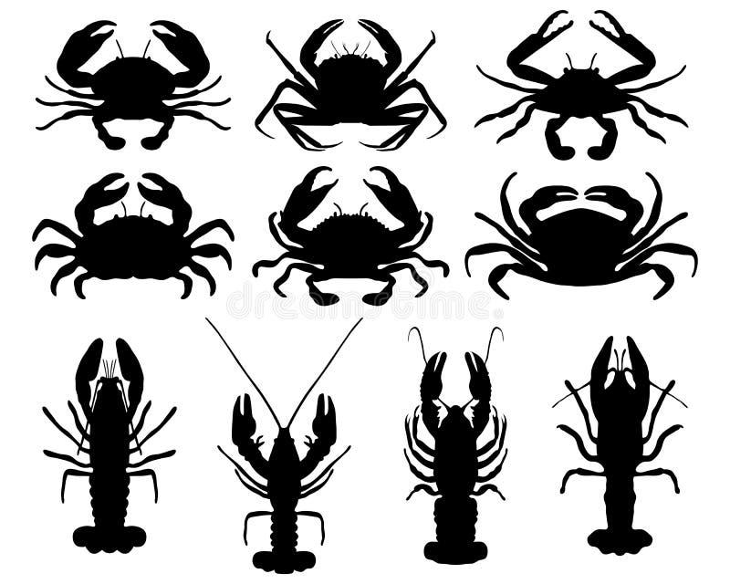Crabs Stock Illustration