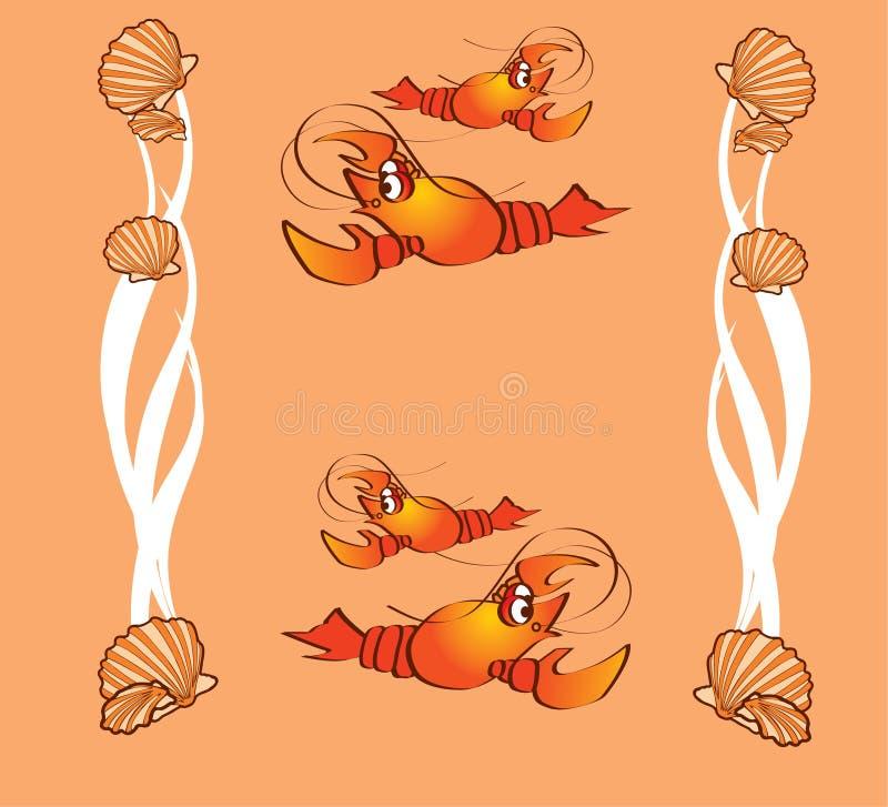 Crabs, Clams Royalty Free Stock Photos