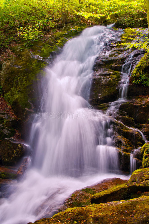 Free Crabtree Falls In George Washington National Forest In Virginia Stock Photo - 40586590