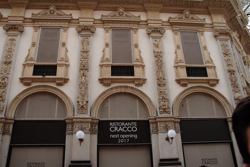 Cracco ` s restauracja obrazy stock