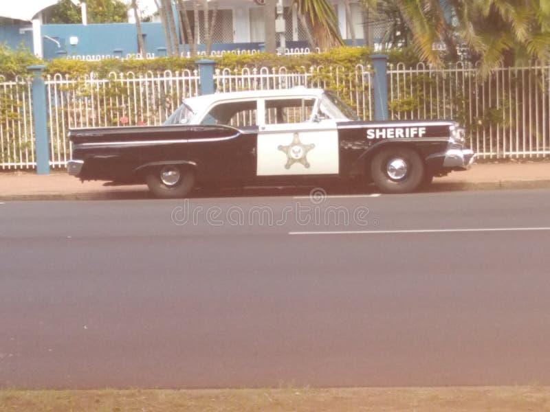 Crachá dos xerifes fotos de stock royalty free