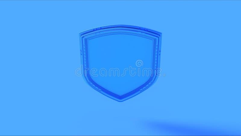 Crach? azul do protetor fotos de stock