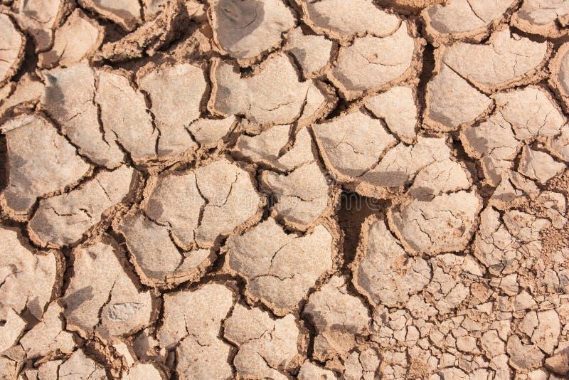 Crack earth dry