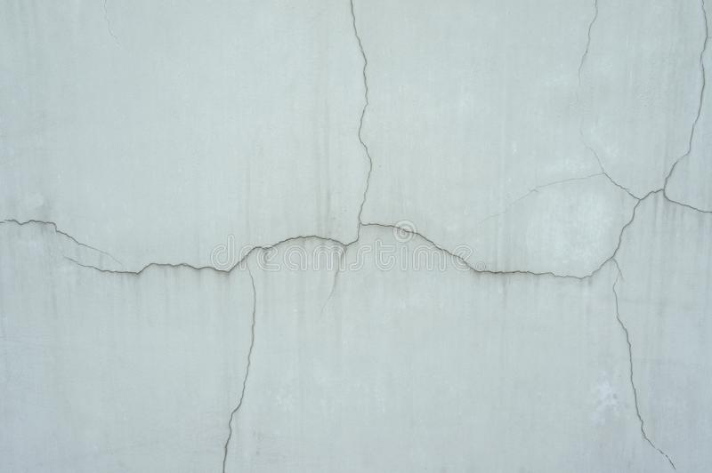 The crack and broken cement wall stock images