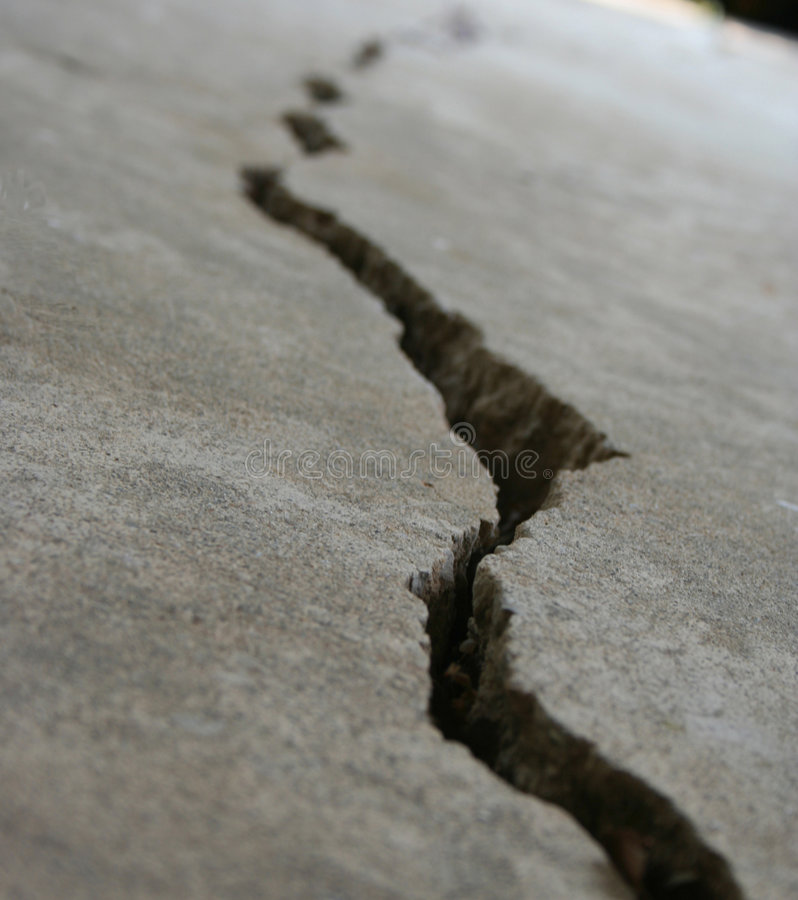 Download Crack in pavement 4 stock photo. Image of plate, protection - 970490