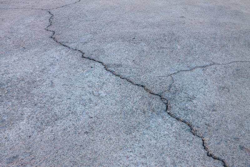 Crack of street royalty free stock photography