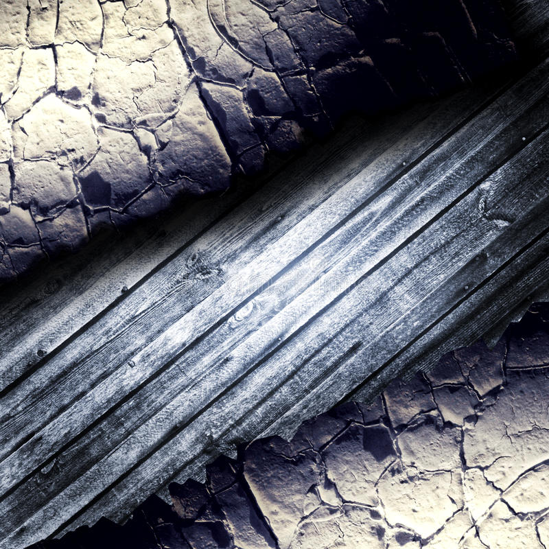Crack wall template background stock images