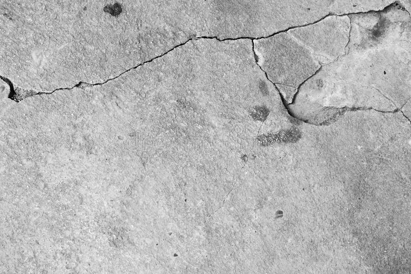 Crack white concrete texture background. stock image