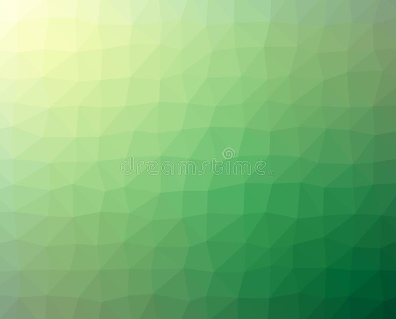 Cracked Abstract Green Textured Background royalty free illustration