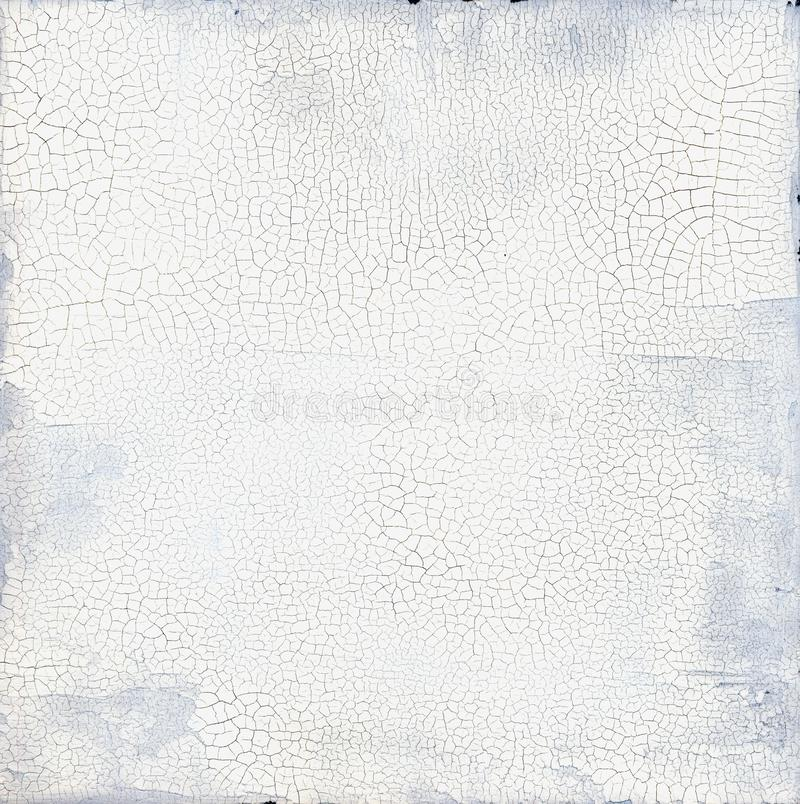 Cracked Blank Textural Abstract Zen Painting royalty free stock photography