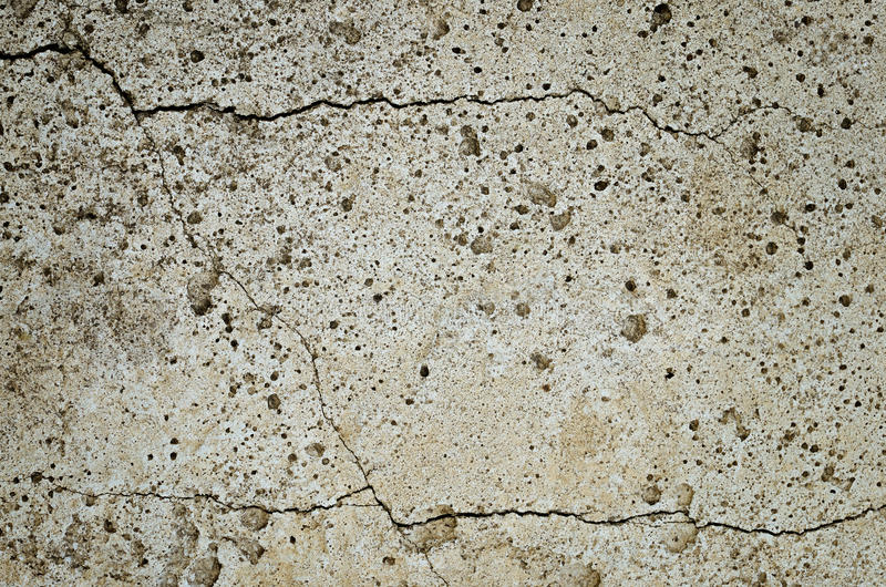 Cracked concrete slab. For background royalty free stock photo
