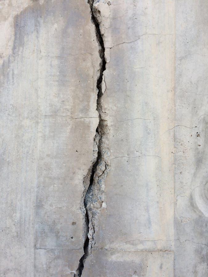 Cracked concrete texture royalty free stock photos