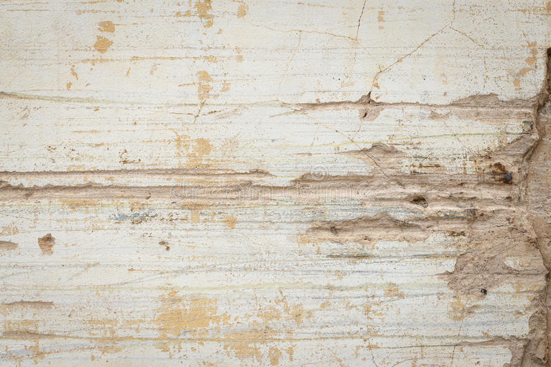 Cracked concrete wall texture background stock photography