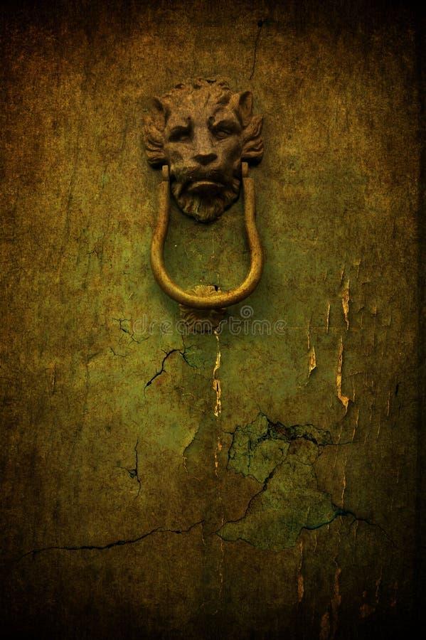 Cracked Door Royalty Free Stock Image