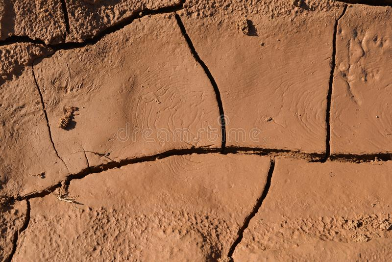 Dried soil stock images
