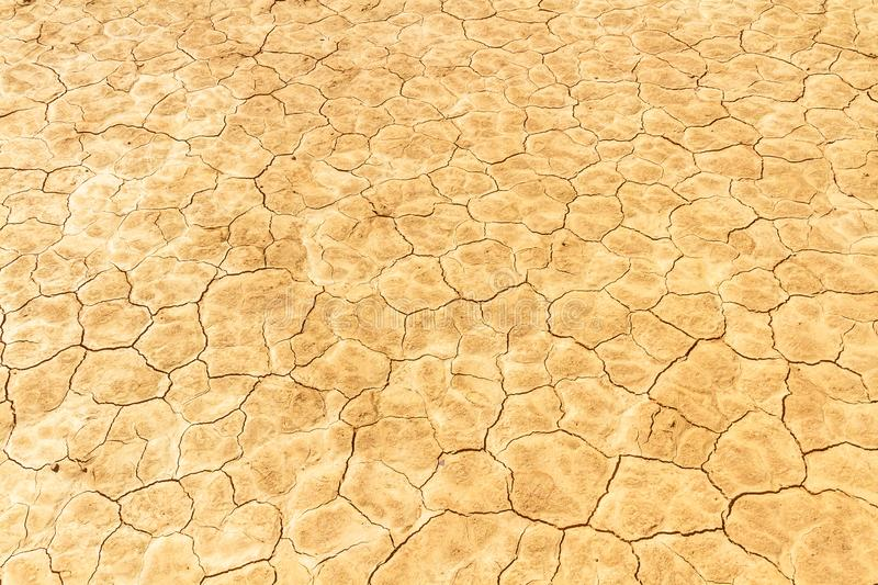 Cracked dry earth texture stock images