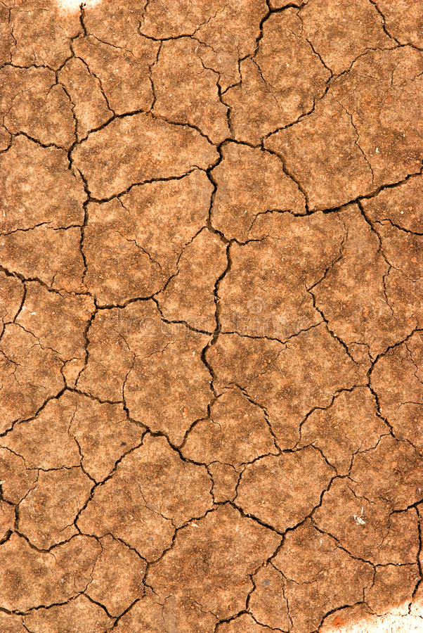 The cracked earth royalty free stock image