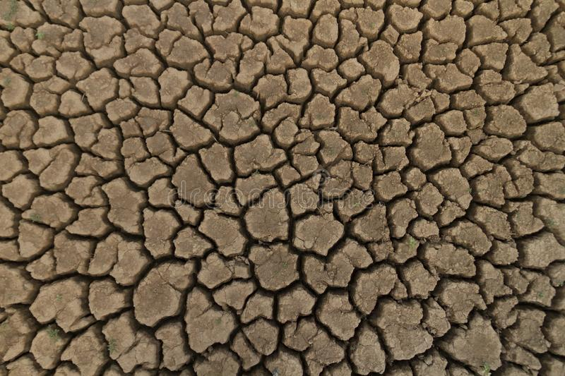 Cracked earth element for Drought and climate change royalty free stock images