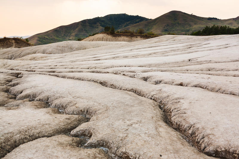 Cracked earth soil stock photo