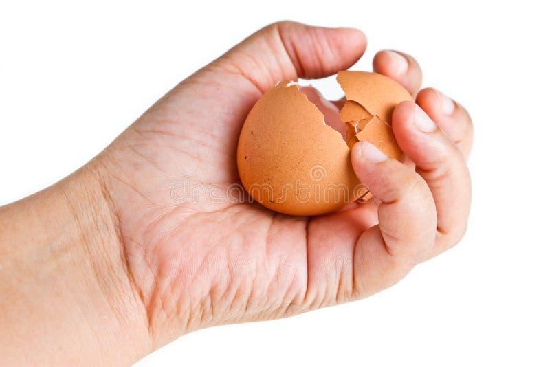 Download Cracked egg stock image. Image of ellipse, fragile, fragility - 26506923