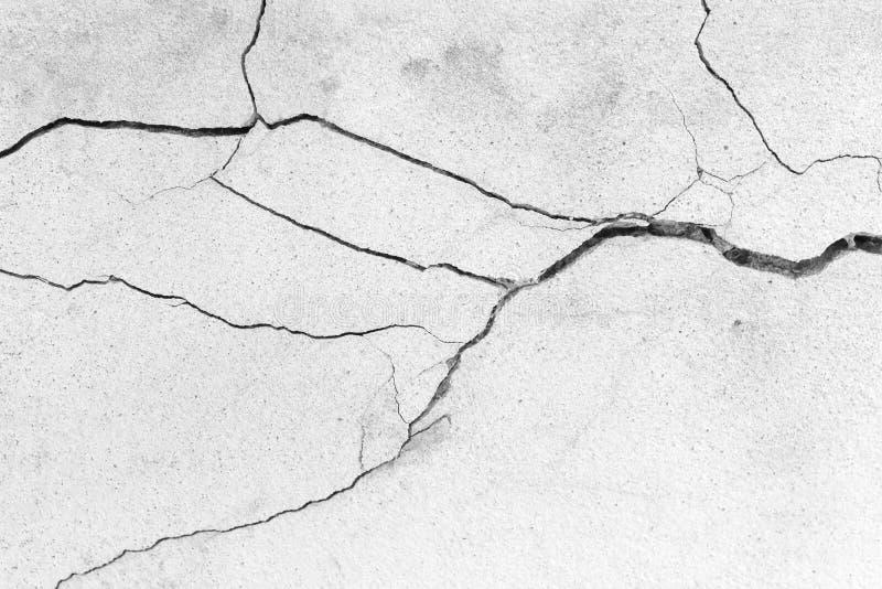 Cracked floor. stock photos