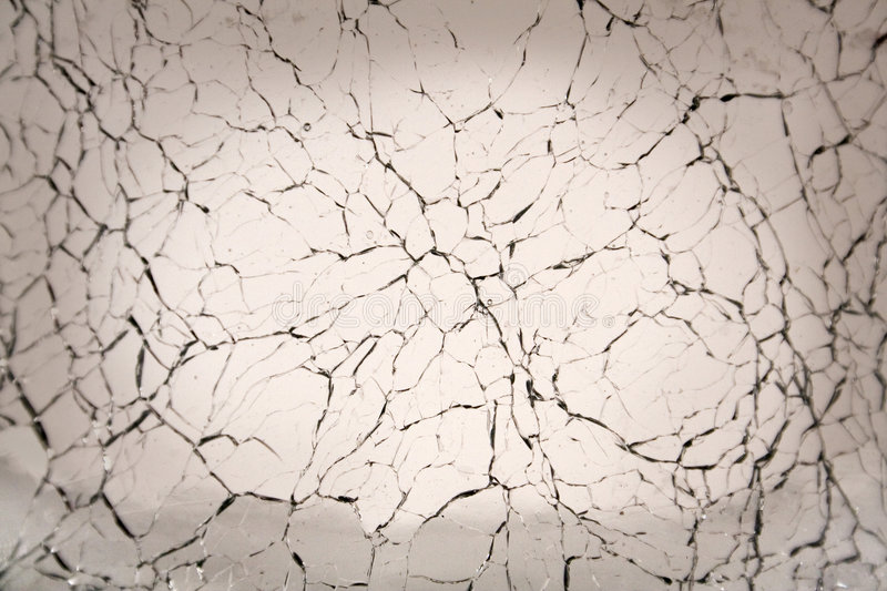Cracked Glass Background royalty free stock images