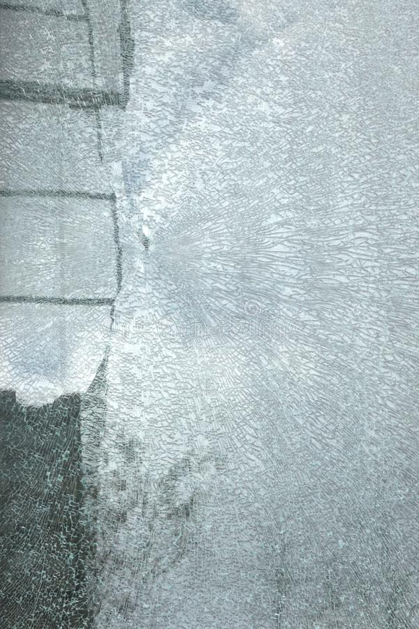 Cracked Glass stock photography
