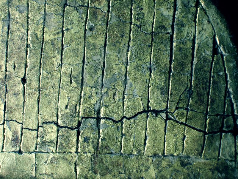 Cracked gold texture royalty free stock image