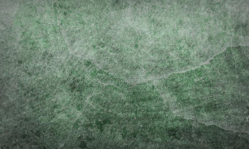 Cracked green marble stone conceptual texture background no. 74 stock photography