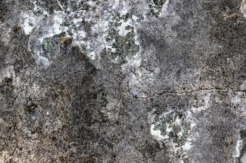 Cracked Grunge Concrete Wall Texture for Background royalty free stock photography