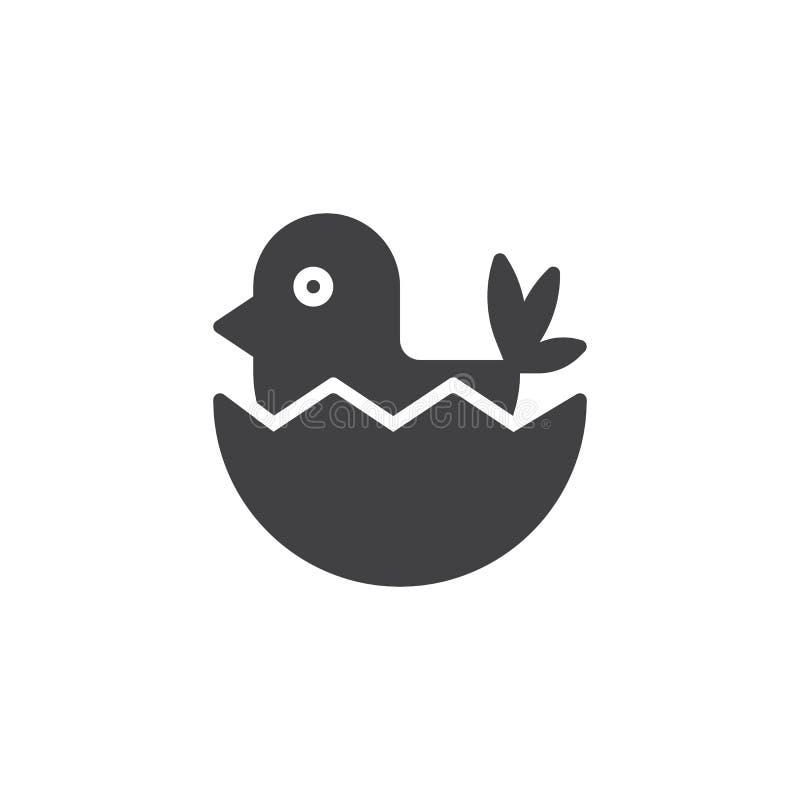 Hen Chicken Vector Icon Stock Vector . Illustration Of