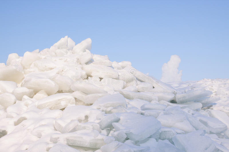 Download Cracked ice on lake stock image. Image of extreme, ocean - 28529539