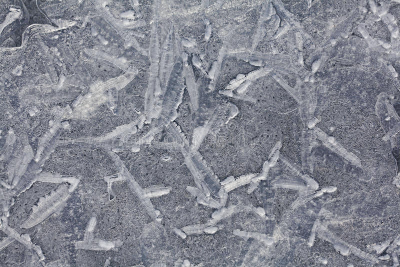 Cracked ice texture background natural royalty free stock images