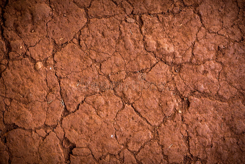 Cracked land texture stock photo