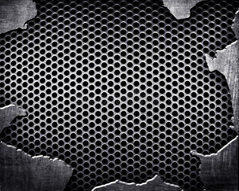Cracked Metal Background Stock Illustration Image Of Iron
