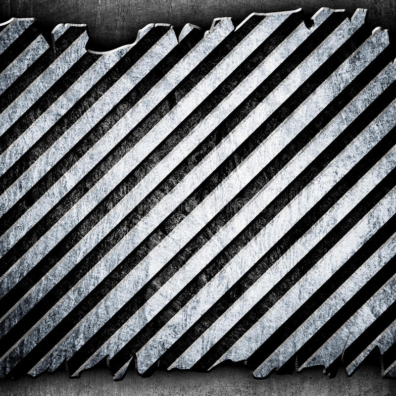 Download Cracked Metal Stripe Background Stock Illustration - Image: 13452987