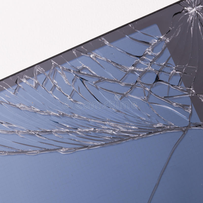 Free Cracked Mobile Phone Screen Stock Photography - 43684472