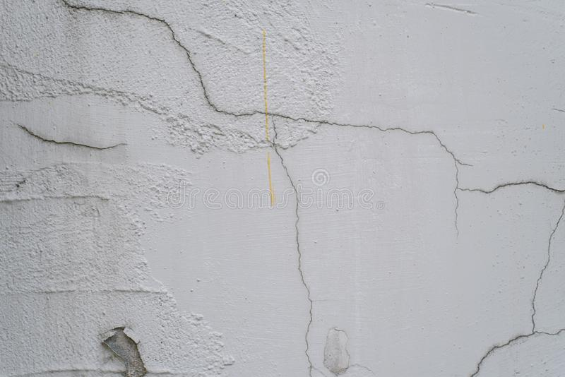 cracked and peeling paint on white wall royalty free stock images