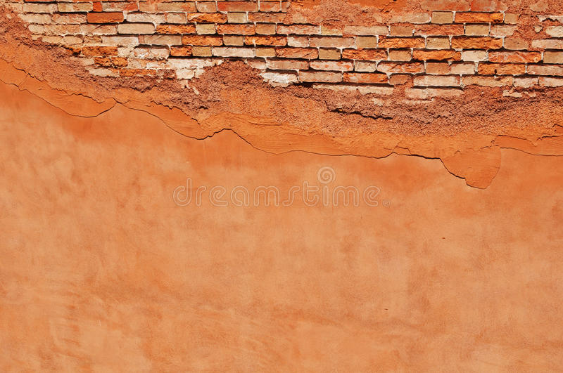 Cracked Wall Royalty Free Stock Photography