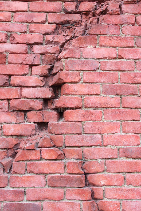 Download Cracked Wall stock image. Image of damaged, change, construction - 28757153
