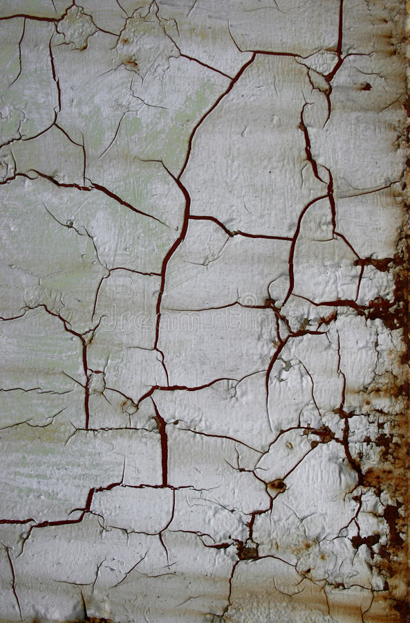 Cracked wall royalty free stock image