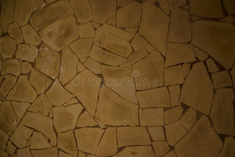 Cracked wall. Brown cracked wall royalty free stock photos