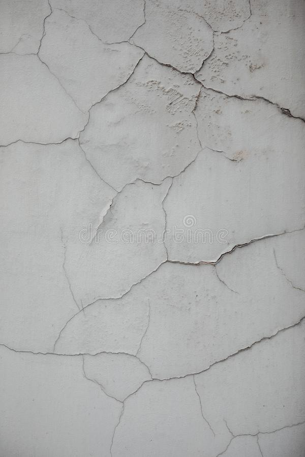 Cracked wall texture royalty free stock image